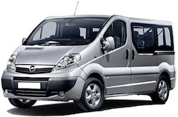 F.....OPEL VIVARO LONG 9SEATS